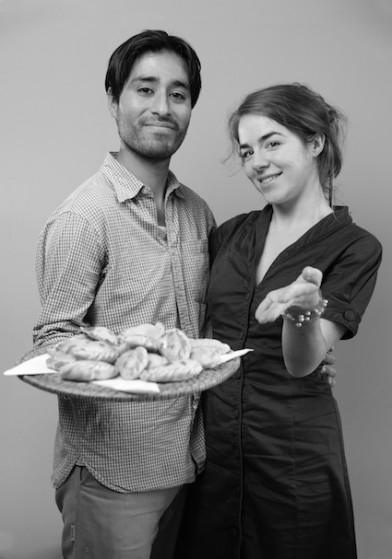 Empanadabar van Martin en Maaike